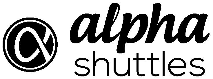 Alpha Shuttles logo